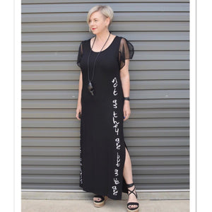 Graffiti Dress - LaLunaLifestyle