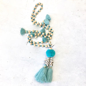 Handmade Tropical  Ornament or Necklace - LaLunaLifestyle