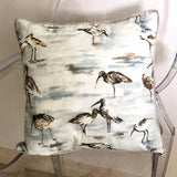 Cushion Cover Seaside Seagull - LaLunaLifestyle