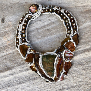 Exotic Abalone Necklace - LaLunaLifestyle