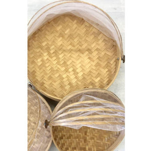 Domed Net - Food Platters - Set of 3 - LaLunaLifestyle