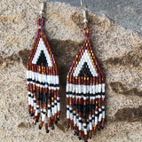 Ethnic Beaded Earrings - LaLunaLifestyle