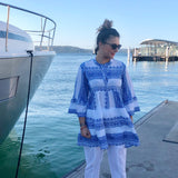 Embroidered Bohemian Blouse - LaLunaLifestyle