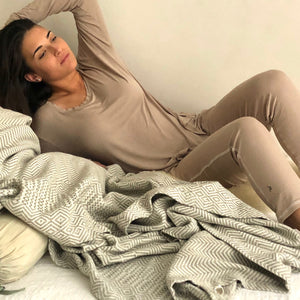 Bamboo Fabric Pyjama Set