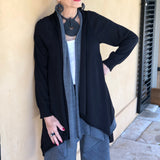 Double-Layered Cardigan