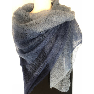 Extra Fine Square Mohair Scarf - LaLunaLifestyle