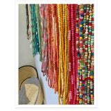 Wooden Beads Hand-Dyed - LaLunaLifestyle