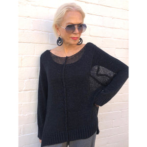 Silky Cotton Knit Jumper