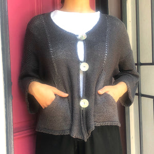 Cotton Knit Cardigan - LaLunaLifestyle