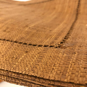Raffia Placemats with Napkin Ring Holders