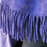Pure, Soft Mohair Shawl or Blanket