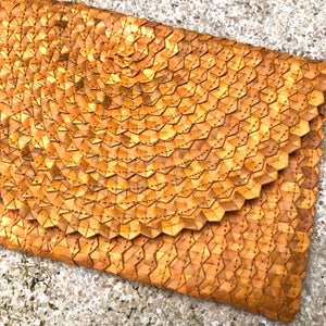Bamboo Leaf Clutch Bag - LaLunaLifestyle