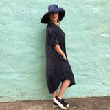 Linen Tulip Dress - LaLunaLifestyle