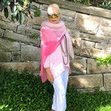 Extra Fine Square Mohair Scarf
