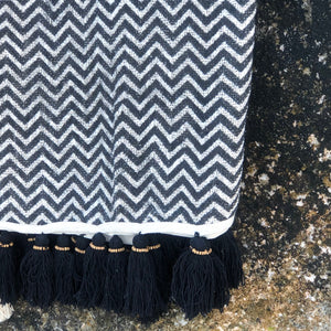Handwoven Linen Throw