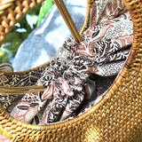 Designer Wicker Bag - LaLunaLifestyle