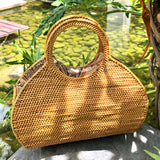 Designer Wicker Bag