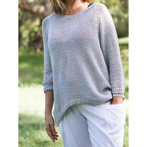 Open Back Pullover - LaLunaLifestyle