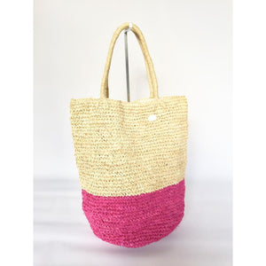 Two Tone Woven Basket - LaLunaLifestyle