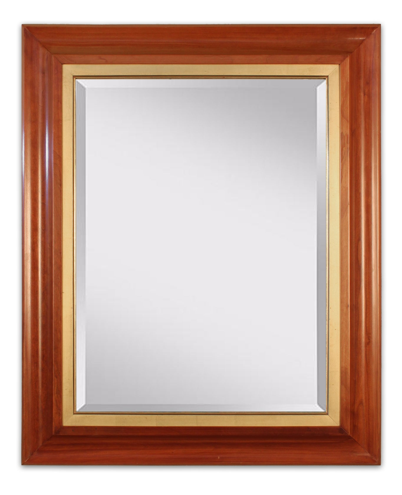 Mahogany High Front with 22K Gold Liner Mirror