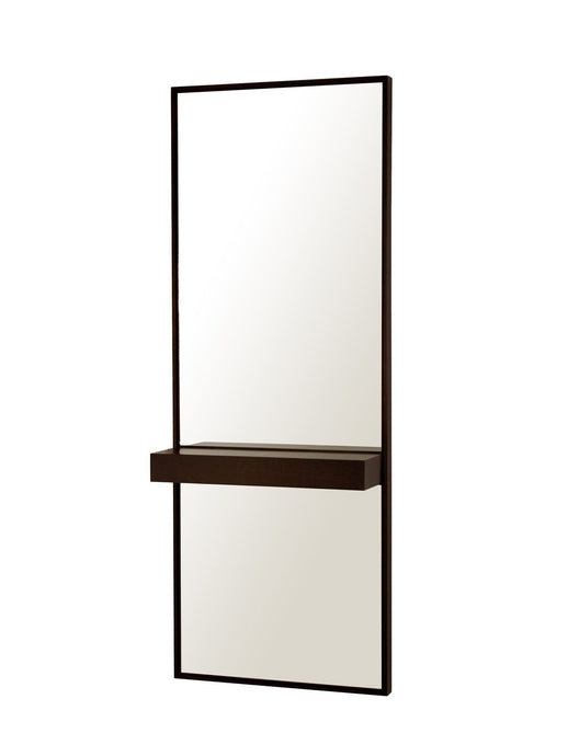 Borderline Single Shelf Mirror