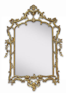 George III Chippendale Style Mirror