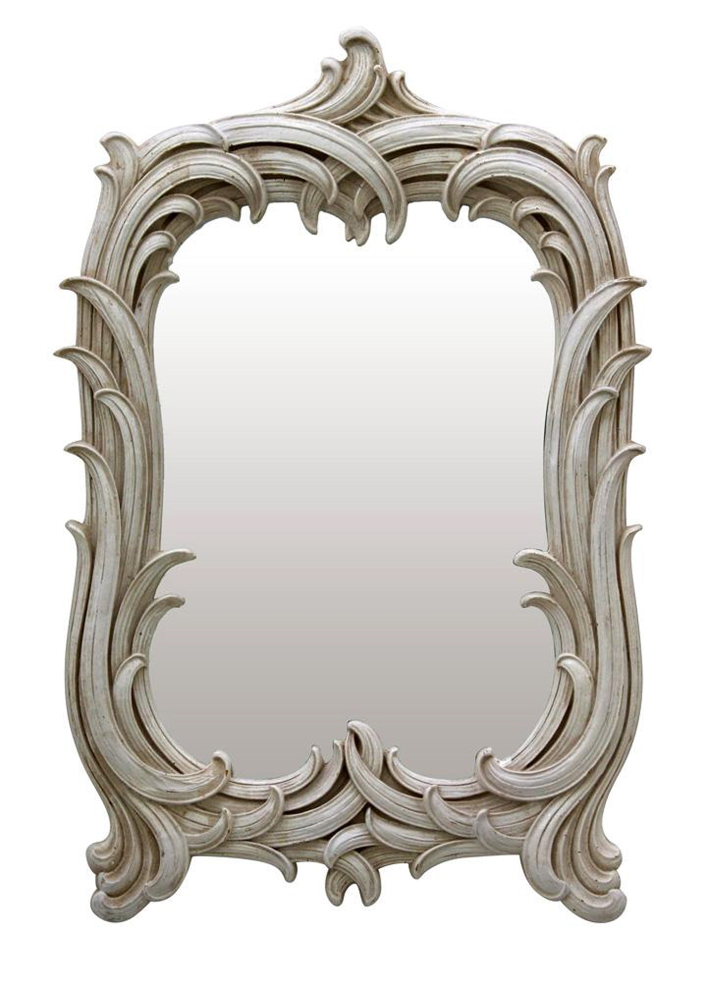 Small Art Nouveau Mirror