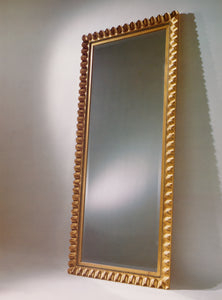 "4-3/8"" Wide Scalloped Mirror"