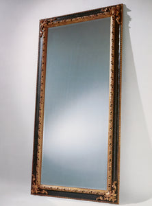 Spanish style with ornate leaf corners mirror