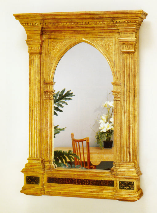 Gothic Tabernacle with clear mirror