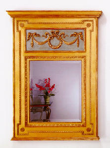 Traditional Trumeau Mirror
