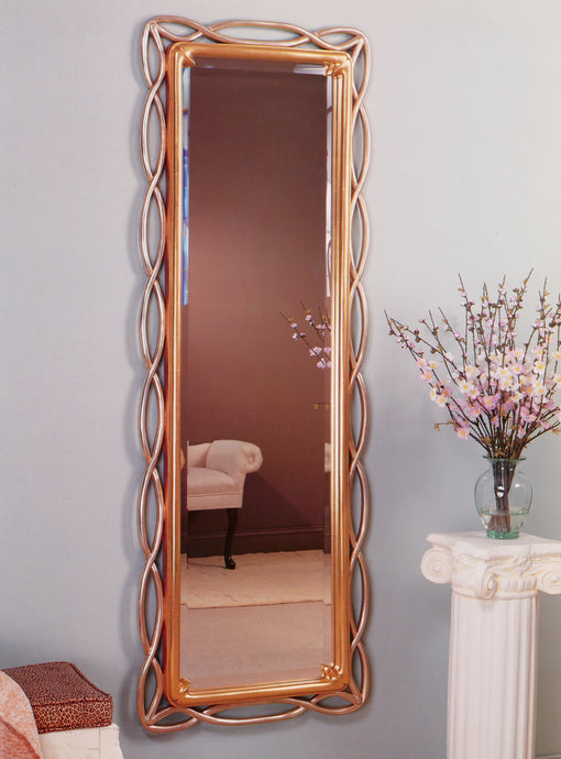 Modern Asian style  with clear beveled Mirror