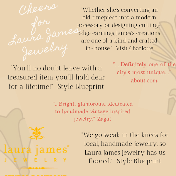 Laura James Jewelry Press and Reviews in Charlotte, North Carolina