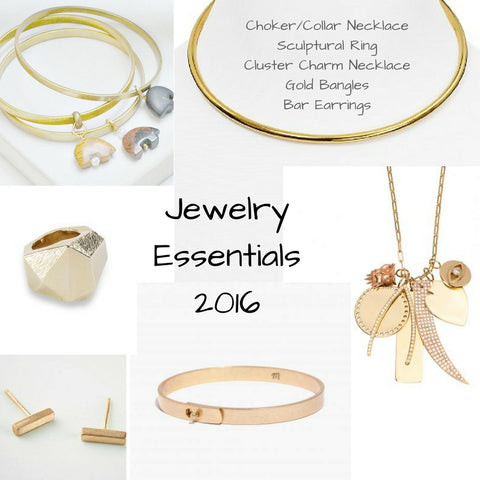 Going for the Gold: Jewelry Essentials for 2016
