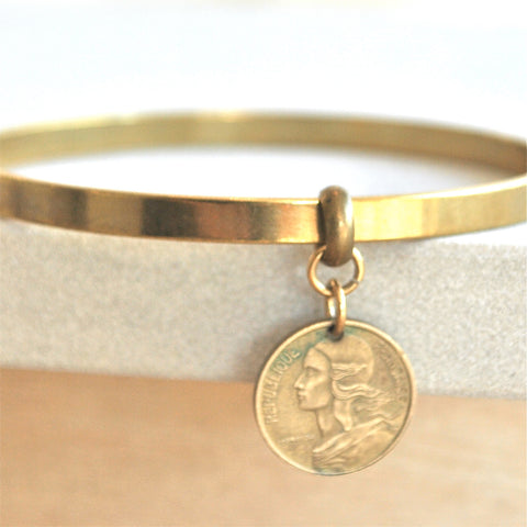 Gold Coin Bracelet Jewelry Trend from Laura James Jewelry