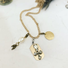Vintage Charms I Customize your Charm Necklace I Laura James Jewelry
