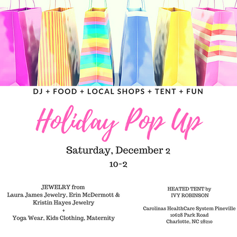 Charlotte CMC Holiday Pop Up This Weekend