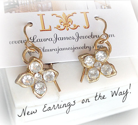 New Earrings Coming from Laura James Jewelry