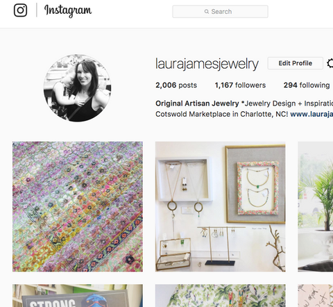 Laura James Jewelry Instagram Feed
