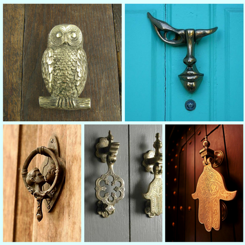Eclectic Door Knockers I Laura James Jewelry Blog