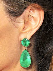 Laura James Jewelry LOVES Angelina's Emerald Earrings