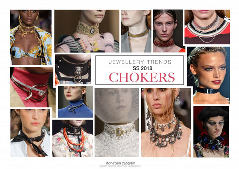 2018 Jewelry Trends and the Choker | Laura James Jewelry Blog