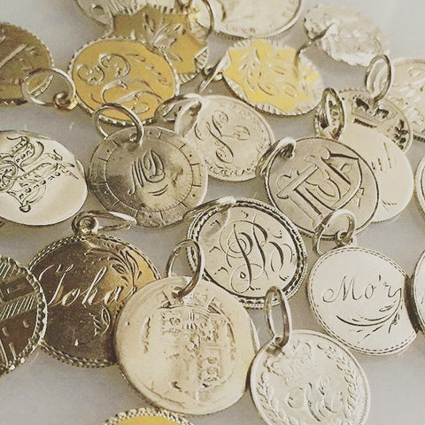 Love Tokens on the Laura James Jewelry Blog