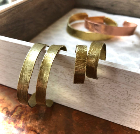 Etched Small Hoop Earrings | Laura James Jewelry