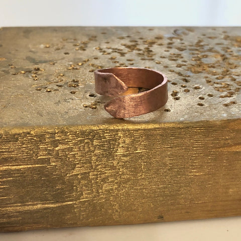 Hammered Twist Ring