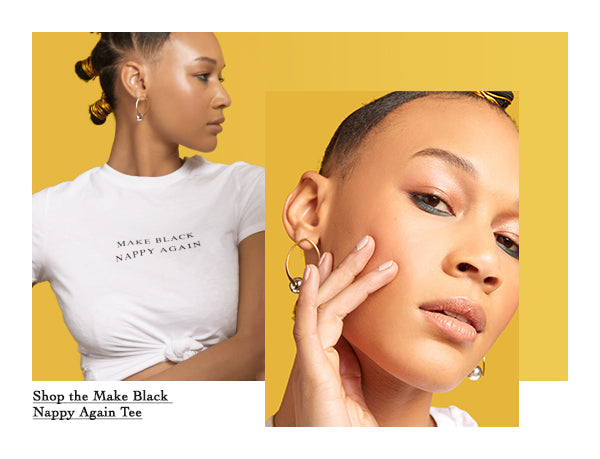 Rikki Richelle for Nappy Head Club and Ipsy - Shop the Make Black Nappy Tee