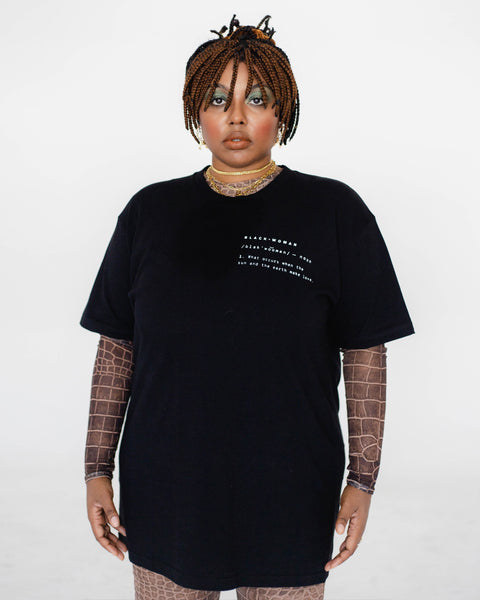 Definition of a Black Woman Tee