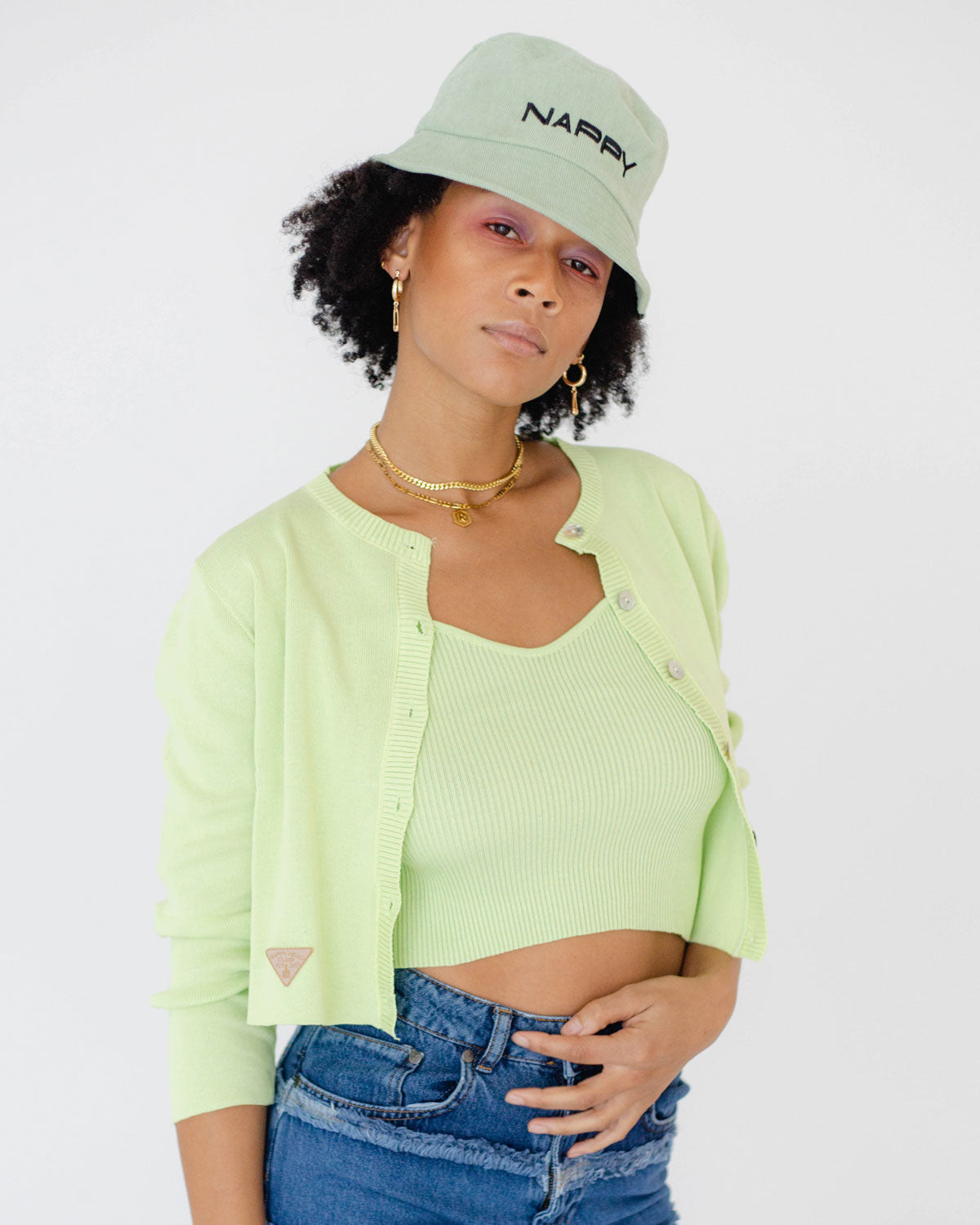Cardi Set – Green Tea