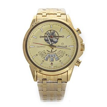 Sveston Metal Band Sports Day Date SV-9235 (GOLD)