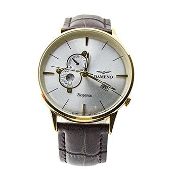 Damino Leather Band Day Date DM-8042